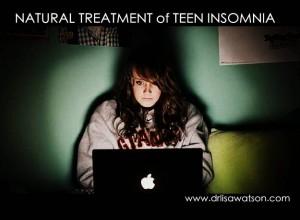 Teen computer insomnia