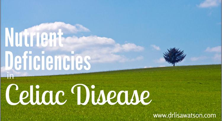 Nutrient Deficiencies in Celiac