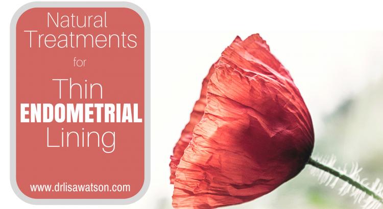 Thin endometrial lining
